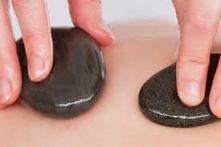 Hotstone massage 45 min-60€
